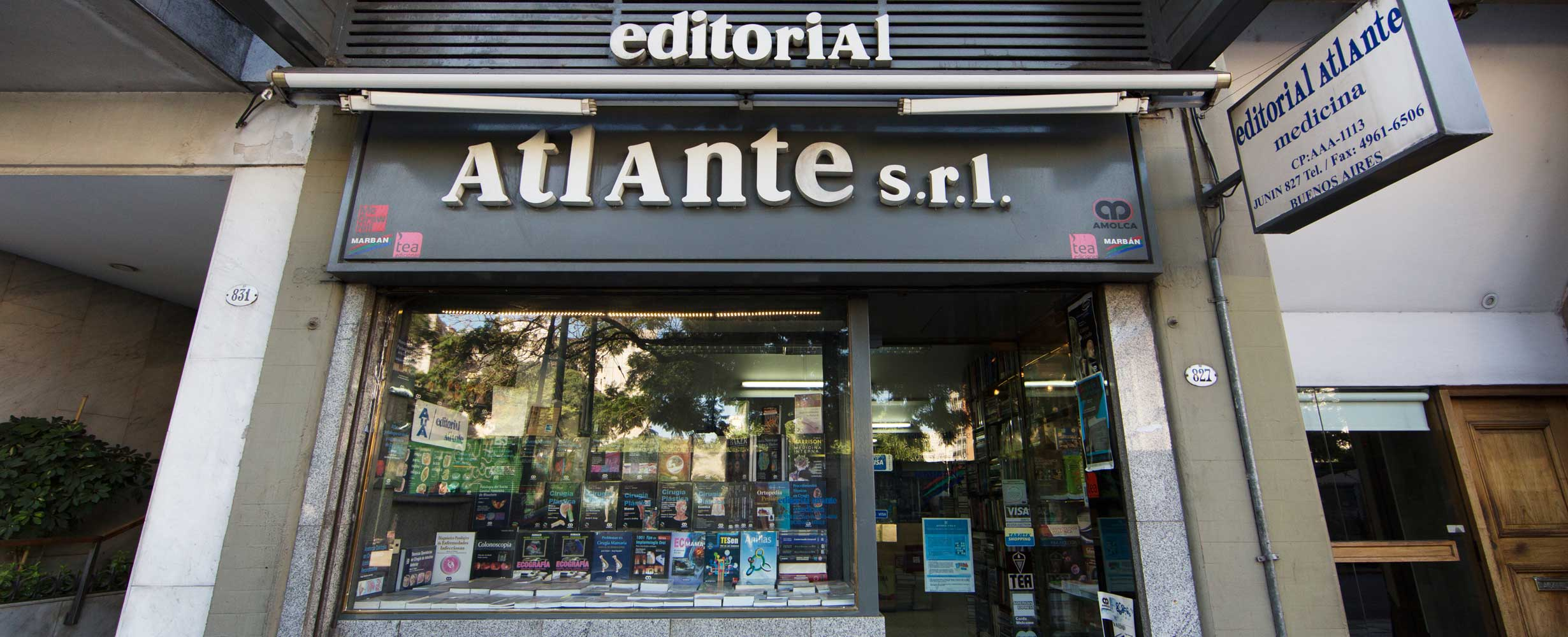 Editorial Atlante - Editorial especializada en ciencias de la salud - Casa Central